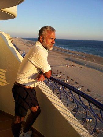 Hotel Playa Victoria: balkon
