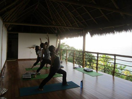 Xinalani Retreat: Yoga in the meditation cabin