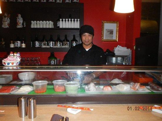 Saigon: sushi bar