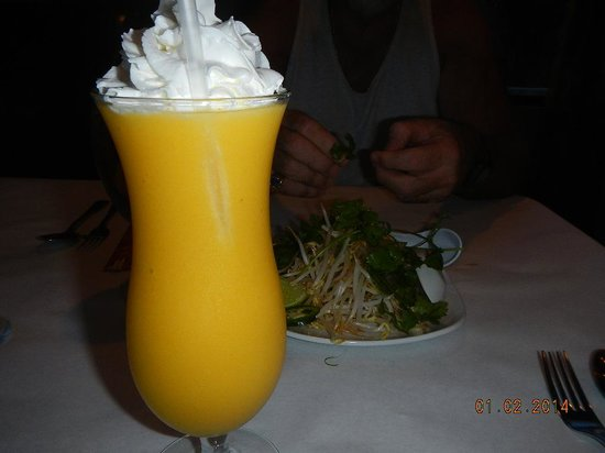 Saigon : Mango smoothie