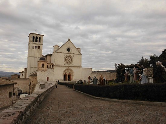 Assisi, İtalya: Facciata Basilica