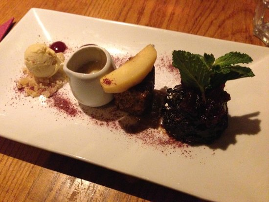 Terre a Terre: Plum Pudding