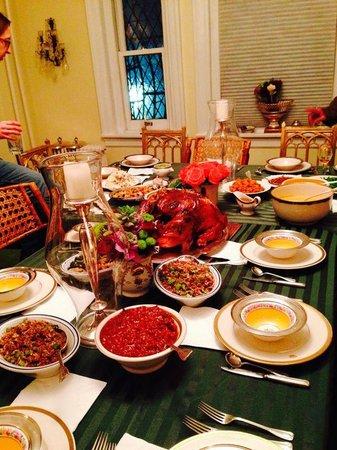 Harlem Renaissance House B&B: Thanksgiving