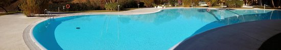 DoubleTree by Hilton Hotel Resort & Spa Reserva del Higueron: Panoramic View of One of the Pools