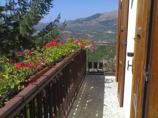 Gransasso : Balcone camera ICHI