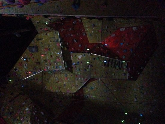 Rock and Rapid Adventures: Charity Climb in the Dark for Climbers Against Cancer. What a great evening