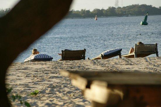 Lamu House Beach Club: Relaxing