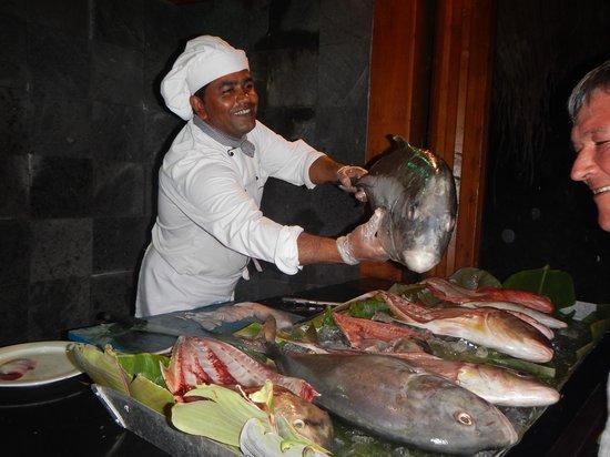 Kuredu Island Resort & Spa : Poissons extra