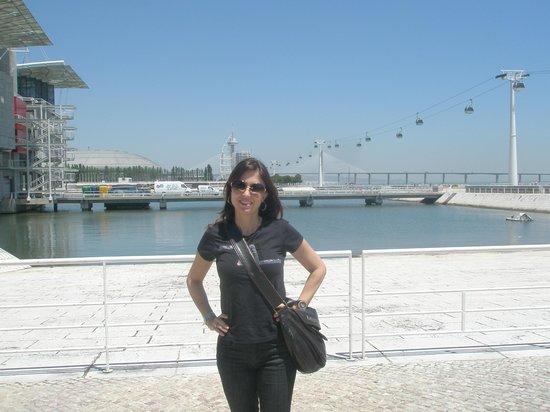 Vasco da Gama Tower : Passeio panorâmico às margens do Tejo