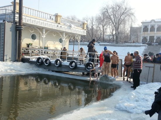 Stalin Park : Swimming
