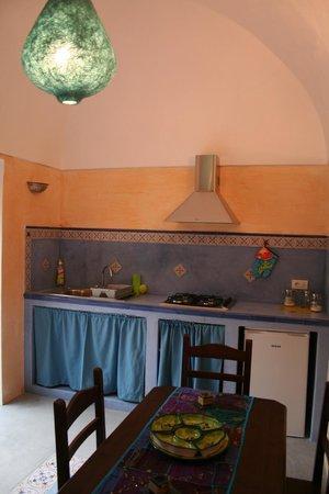 cucina del dammuso blu