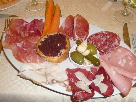 La Rustica: Antipasto dello chef