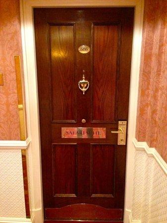 The Milestone Hotel: Hochwertige Zimmertüren