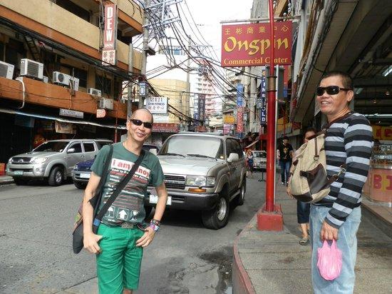 Chinatown: Ongpin St. right through the heart of Binondo