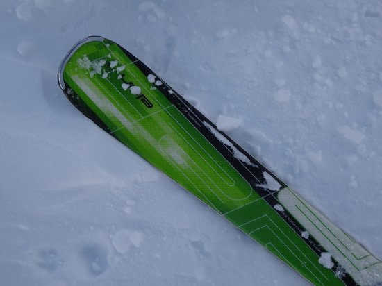 Tignes Spirit : One of my skis, liked the colour!