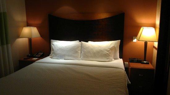 Fairfield Inn & Suites Portland West/Beaverton : Studio Suite with king bed