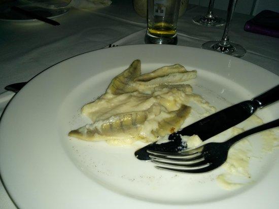 Hotel Rigi Kaltbad: Ist es gebratener Egli oder gekochte Sardelle?