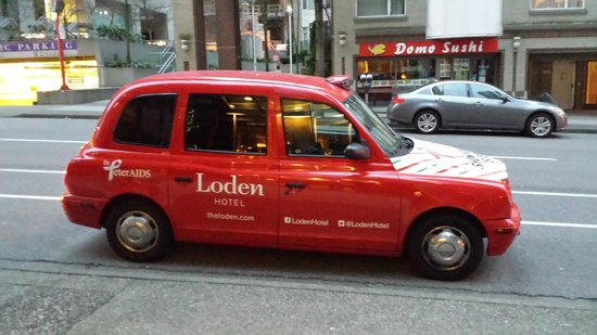 Loden Hotel: Loden taxi