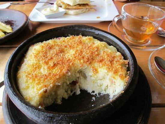 Restaurant Cafe Cangrejo Rojo: King Crab Pie