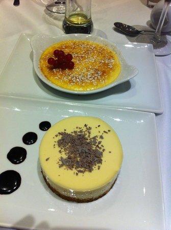 Desserts at Tucanos
