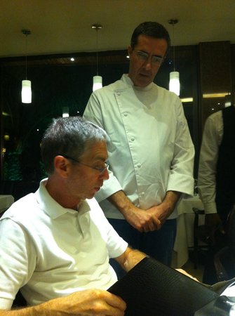 Tucanos: The Chef came out and addressed questions we had about the menu. Greatly appreciated!!