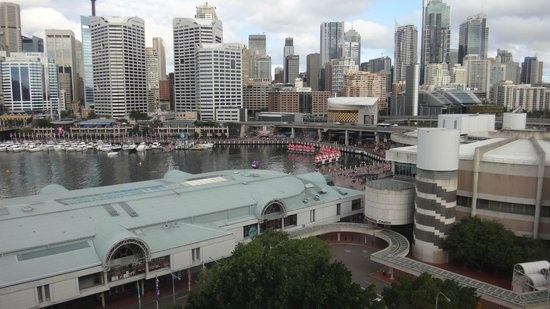Novotel Sydney on Darling Harbour: View from room to Darling Harbour