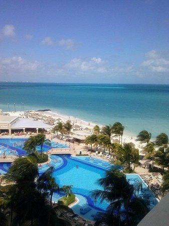 Hotel Riu Caribe : Vista da suíte