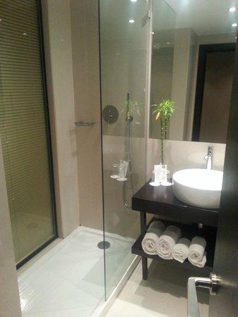 Czar Lisbon Hotel : The bathroom