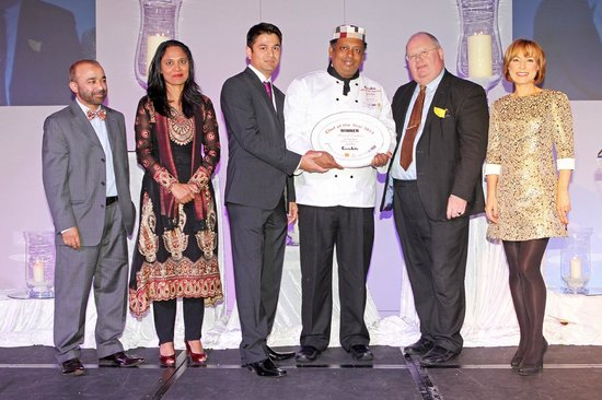 The Snooty Mehmaan: Chef of The Year Award 2013 by Taste of Britain Curry Fest