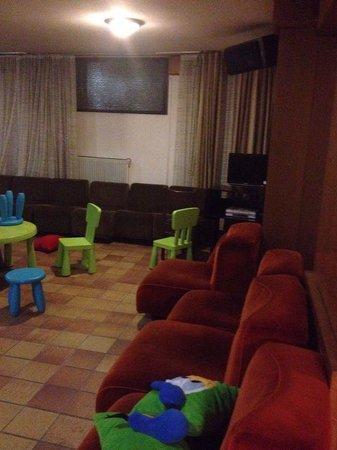 Hotel Europeo: Stanza giochi