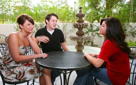 Holiday Inn Express Hotel & Suites Rancho Mirage - Palm Spgs Area: Enjoy our outdoor patio area We have outdoor seating next
