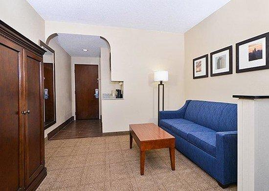 Comfort Suites University - Research Park: Guest Room Sleeper Sofa