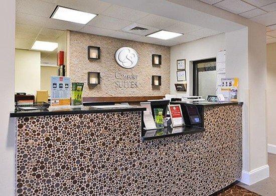 Comfort Suites University - Research Park: Front Desk