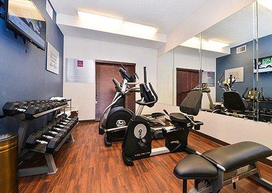Comfort Suites University - Research Park: Fitness Room