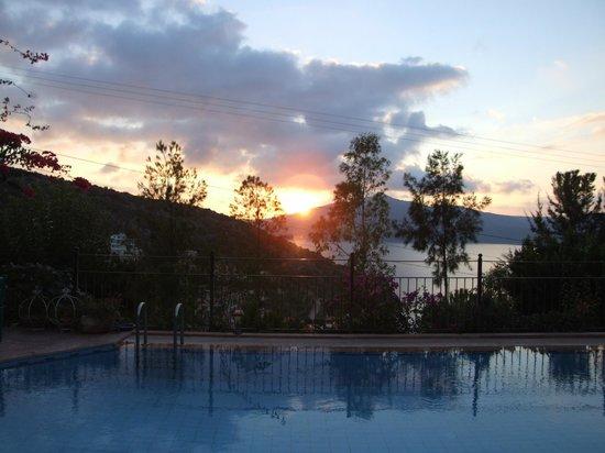 Hotel Fidanka: Kalkan sunset