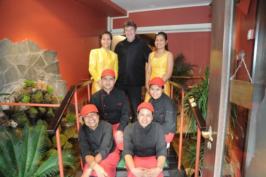 Orchidee Thai Knokke : Team Orchidee