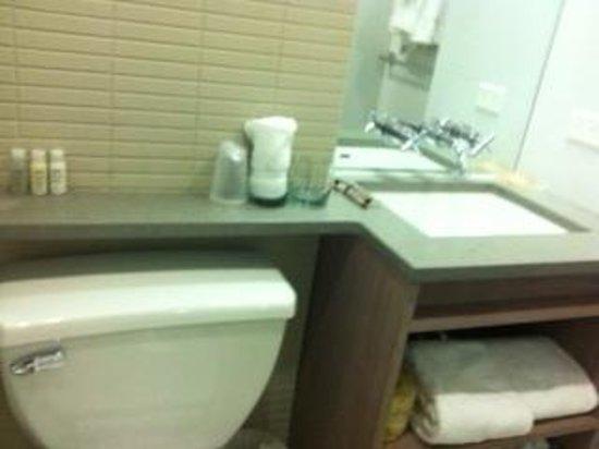Hotel Indigo: clean bathroom
