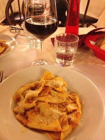 Hotel California Florence : Il primo piatto della cena