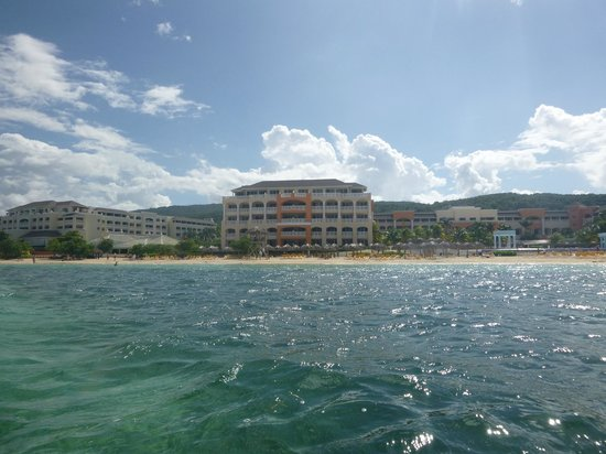 Iberostar Grand Hotel Rose Hall: View of Hotel from Ocean