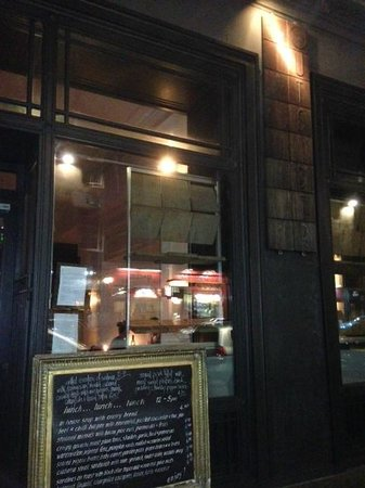 The Outsider Restaurant : The outsiders...from outside
