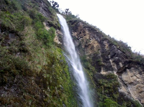 Giron, Ecuador: El Chorro Waterfall From The Top