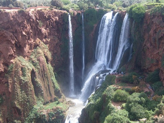 Trekking Morocco Mountains: Ouzoud Waterfalls