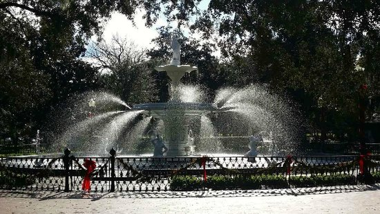 Forsyth Park: Beautiful on a Perfect Southern Day