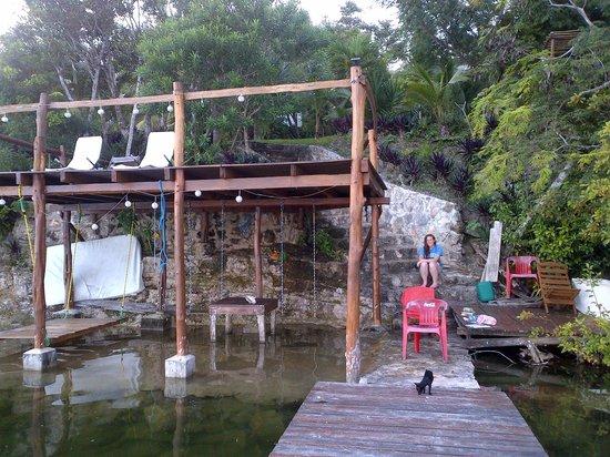 Casa Aq ab al: The dock