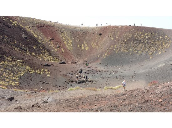 Etna Sicily Touring : One of many craters