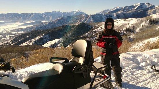 Lofty Peaks Adventures: Half way up the trail