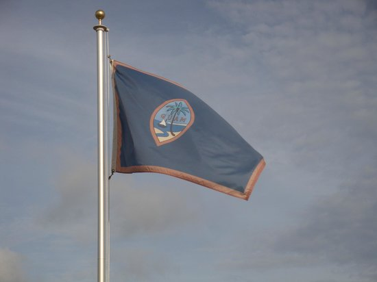 Days Inn Guam-Tamuning: Flag of Guam