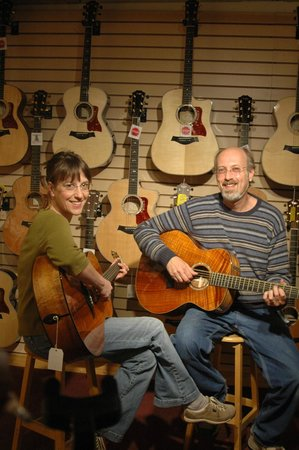 Northern Lights Music: The proprietors Mooch and Dan