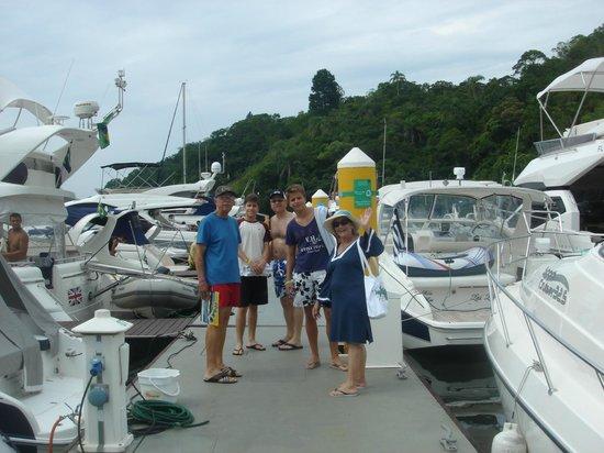 Promenade Angra dos Reis : Marina - Passeio de lancha
