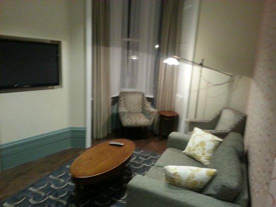 Morton Hotel: appartamento - soggiorno, area relax